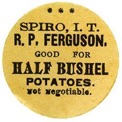 R. P. Ferguson Token (Spiro, Indian Territory)