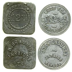 Ensunsa/ Brauning Tokens (Jarbidge, Nevada)