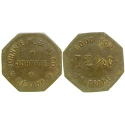 Johnnie M & M Co. Token (Johnnie, Nevada)