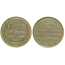 F. Prentice Mining Co. Token (Pah-Ranacat Mining District, Nevada)