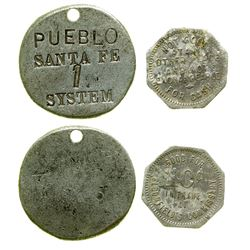 Bloomfield's Commissary Token and Tool Tag