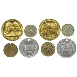 Four Misc. Merchant Tokens