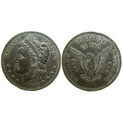 """Bryan's Idea of Coinage"" So-Called Dollar (Schornstein 817)"