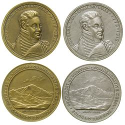 Pike's Peak 100th Anniversary So-Called Dollars (HK 336 & 338)