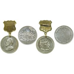 Two Columbian Exposition Medals