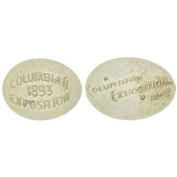 Columbian Exposition Rolled Coins