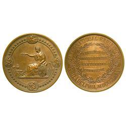 Centennial Exposition Bronze Award Medal