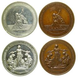 Two Centennial Exposition Medals