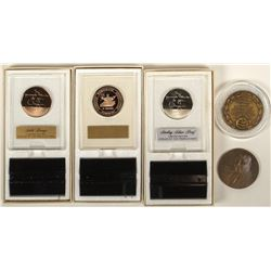 ANA: Five Presidents Medals (Silver & Bronze)
