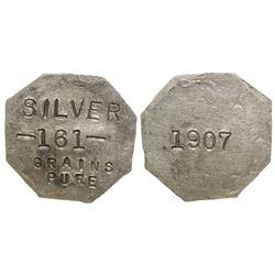 1907 Colorado Octagonal Coin