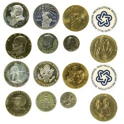 Bicentennial Coin and Stamp Collection