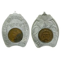 Goebel Brewing Co. Encased Penny