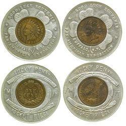 Pan American Expo Encased Pennies