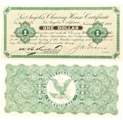 Los Angeles Clearing House Certificate