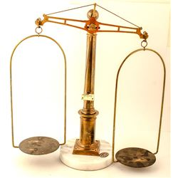 Marble Base Gold Scale