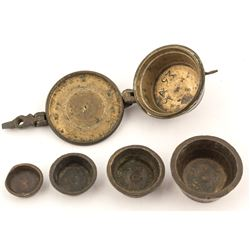 Assay Weights, Pot Set