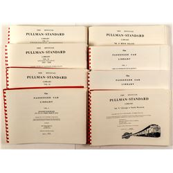 8 Different Railroad Books (Pullman-Standard Library and Passenger Car Library)
