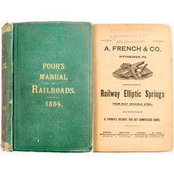 Manual of Railroads of the US 1884