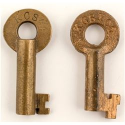 Kansas City Southern Railway Keys