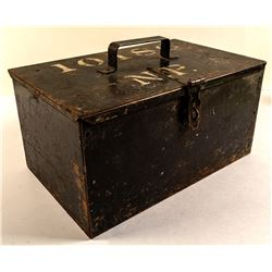 Northern Pacific Railroad Mail (treasure) Lock Box