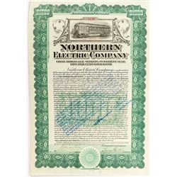 Northern Electric Company Bond (Sacramento Street Railway)