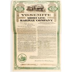 Yosemite Short Line Railway Company Bond