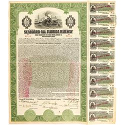 Seaboard-All Florida Railway Bond