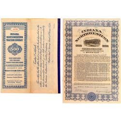 Indiana Northwestern Traction Company Bond (1910)