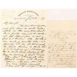 Two 1863 Jeffersonville Railroad Company Letters