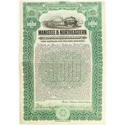 Manistee & Northeastern Railroad Company Bond