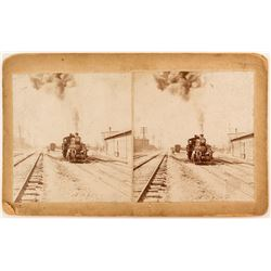 Possible Virginia & Truckee Train Stereoview