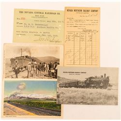 Northeast Nevada Railroad Postcards & Ephemera