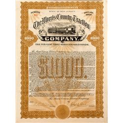 The Morris County Traction Company Bond (1905)