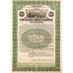 Chickasha Street Railway Company Bond (1911)