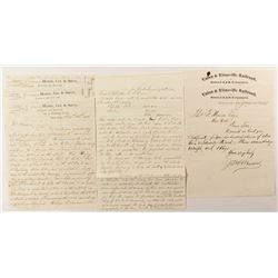 New York/Pennsylvania Railroad Letters