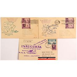 Hawaii First Flight Covers