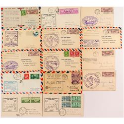 15 Southern First Flight Covers