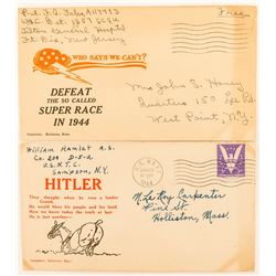 World War II Patriotic Covers: Choice Anti-Hitler