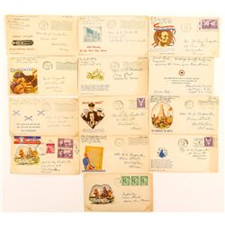 World War II Patriotic Covers: with Contents