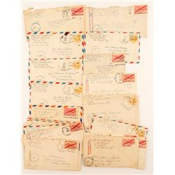 World War II US Navy Censor Covers (27)