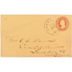 Envelope (no letter) 1853 to 1855