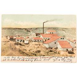 Rare Redlich, Nevada Cancel on a Goldfield Postcard