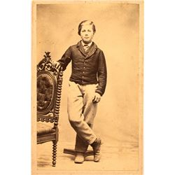 CDV of Civil War Soldier