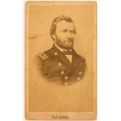 CDV of General Grant