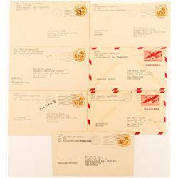 Mrs. Douglas MacArthur Letters, World War II era