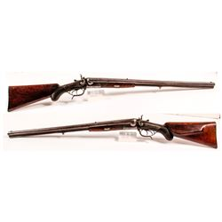 Korinsky German Drilling shotgun/rifle 16 gauge SXS and 8X57 cal.