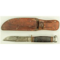 """Marble's"" Knife and Sheath"