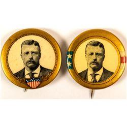 2 Roosevelt Buttons
