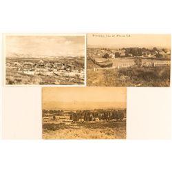 3 Real Photo Postcards: Alturas and Modoc, CA