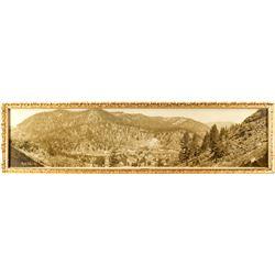 Rare Floriston, California Panoramic Photo